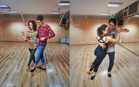 Kizomba за начинаещи в танцово студио Sunny Dance